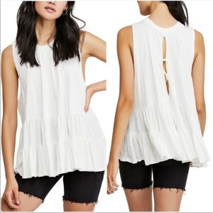 NWT Free People Right on Time Tunic Top